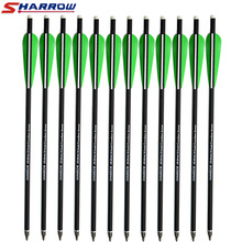 Sharrow 6 Pcs Crossbow arrows 16 17 Carbon Arrow Hunting Archery Arrows