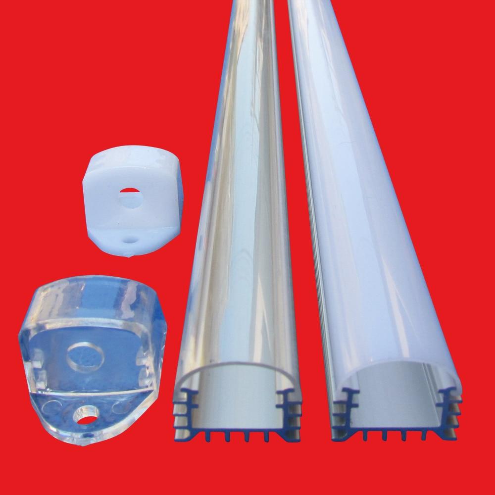 10pcs 40inch 3 3ft 1m each led bar light housing Led alu profile with good heatsink