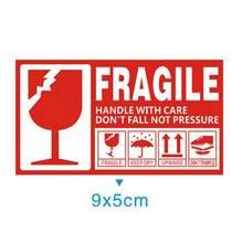 50 шт хрупкие обращайтесь с осторожностью 9x5 см самоклеящаяся
