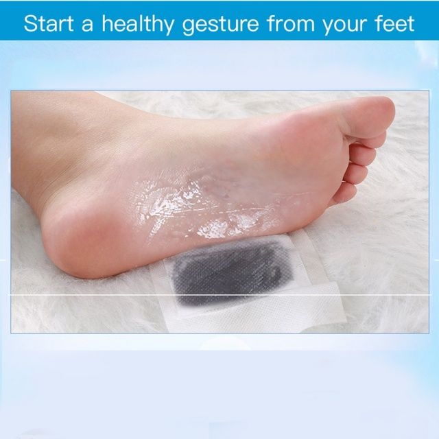 10pcs/lot Soothing Care Foot Sticks Dampness Turbidity Cold Help Sleep Feet Moisture Foot Care Feet Care