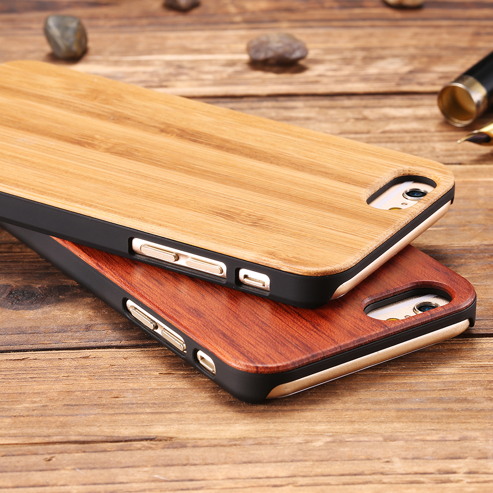Us 449 10 Offkisscase 100 Real Wood Case For Iphone 8 7 6 6s X Xs Max Xr 5s Genuine Original Bamboo Cover For Samsung S8 S9 Plus S6 S7 Edge In