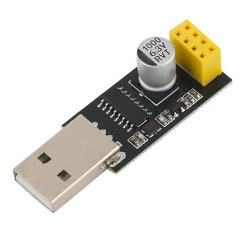 CH340 USB to ESP8266 ESP-01 Wifi Module Adapter Computer Phone Wireless Communication Microcontroller for Arduino интегральная микросхема serial wifi esp8266 module adapter plate esp8266 wifi