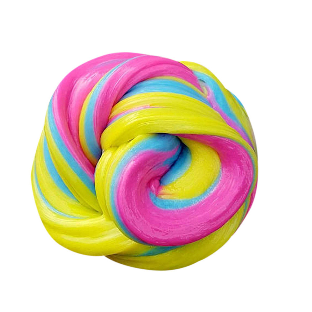 80ml Colorful Fluffy Slime 5