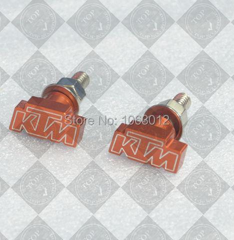 Posterior de la motocicleta Fender Eliminator Matrícula Tornillos 6mm Para KTM 125 200 390 690 DUKE 450 SMR 690 SMC 1190 AVENTURA