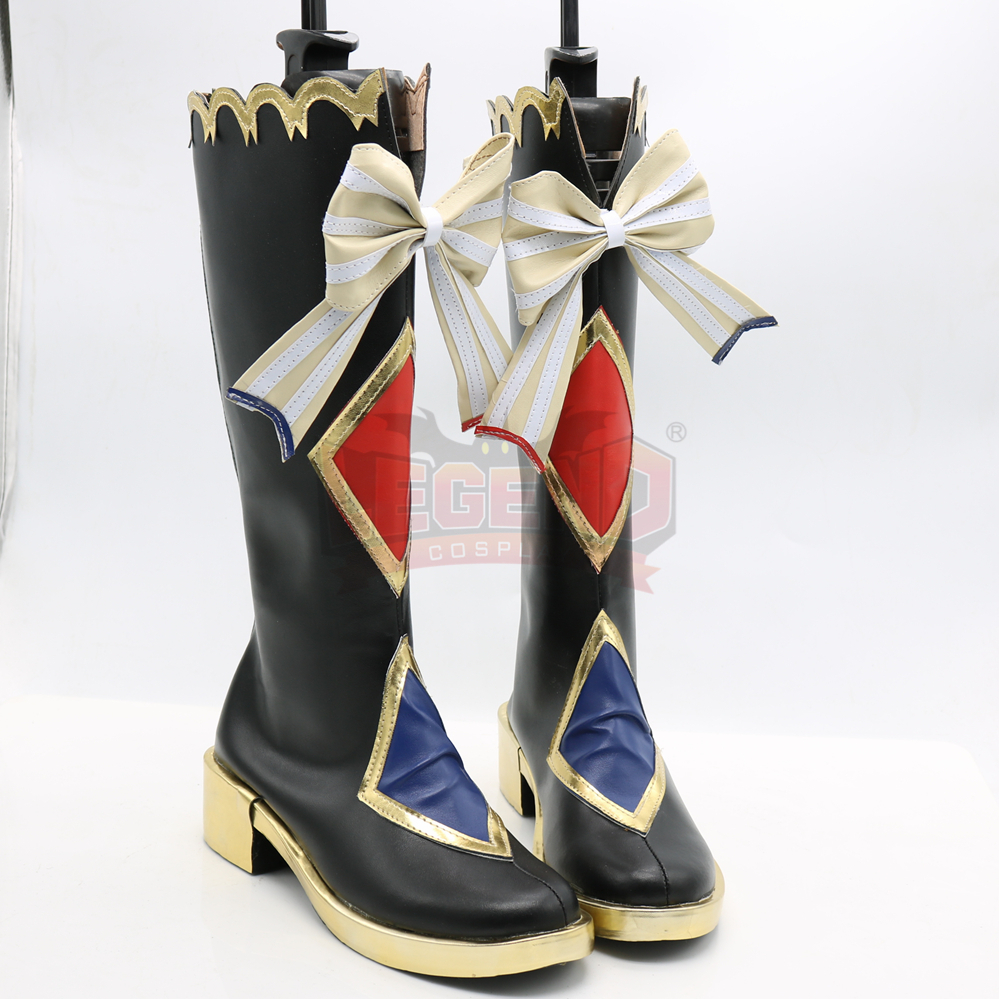lovelive circus ver shoes Cosplay shoes love live Rin Nishikino Maki Nico Minami Kotori Honoka boots Custom made all size