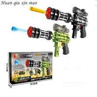 Two In One Toy Gun Capable Of Firing Bullets Water Gun Soft Gun Crystal Paintball Gun