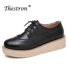 Luxury Shoes Women Designers Black Beige Low Heels Female Fashion Spring Autumn Vintage PU Leather Anti-slip