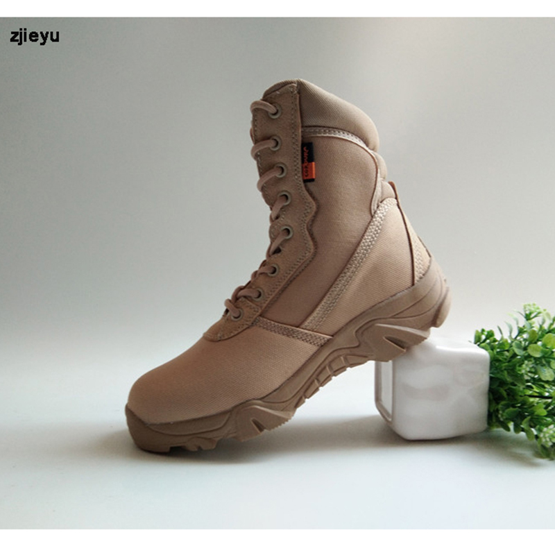 2017 us Military boots Summer super bot light asker combat boots  men's breathable tactical  desert boots with black and yellow the most light combat boots single ultra light ultra fiber super breathable size38 45 ao3