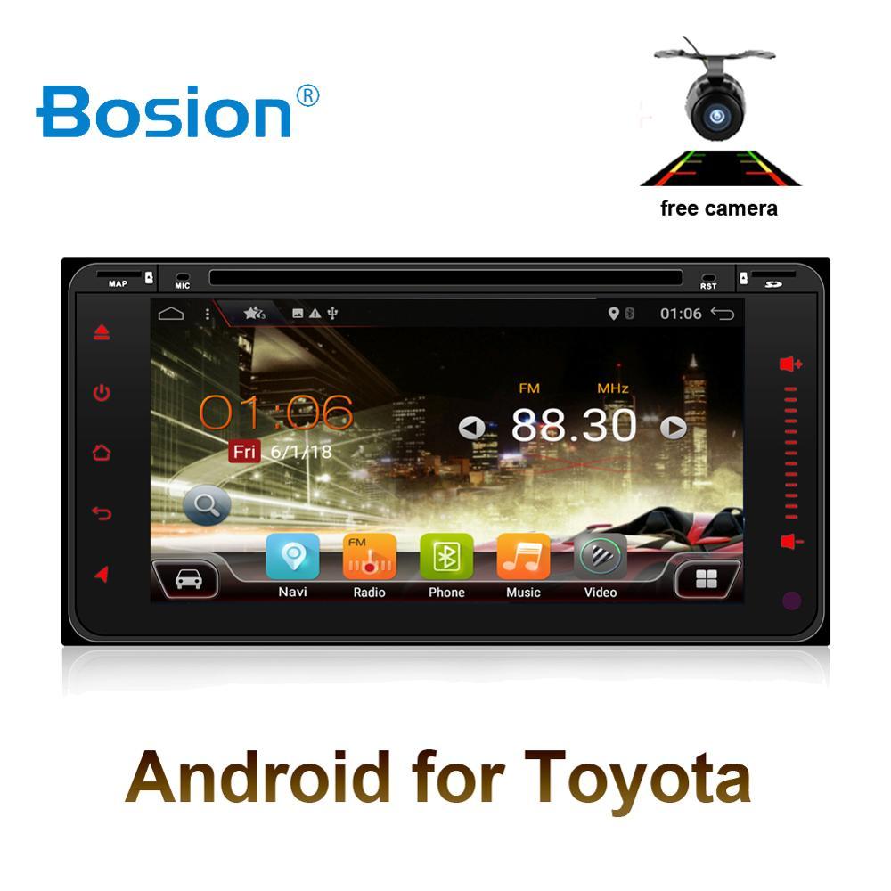Octa 8 core 2 din android 8.1.0 car dvd gps navigation for Toyota Avalon AVanza Celica camry corolla car radio video player WIFI