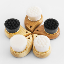 TREESMILE Wash Deep Soft Fiber Mild Face Cleansing Massager Facial Care Skin Pore Clean Brush Bath