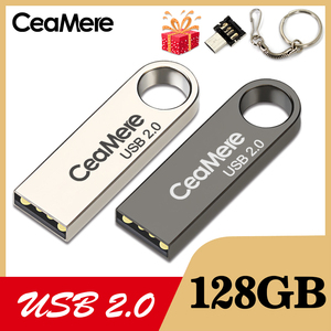 Image 2 - CeaMere C3 USB Flash Drive 16GB/32GB/64GB Pen Drive Pendrive USB 2.0 Flash Drive memory stick USB disk 3 di Colore USB FLASH DRIVE