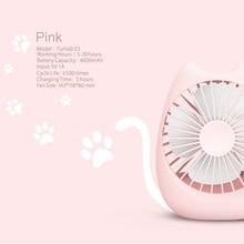 New fun mini cute small fan rechargeable usb electric fan desktop fan office student universal цена и фото