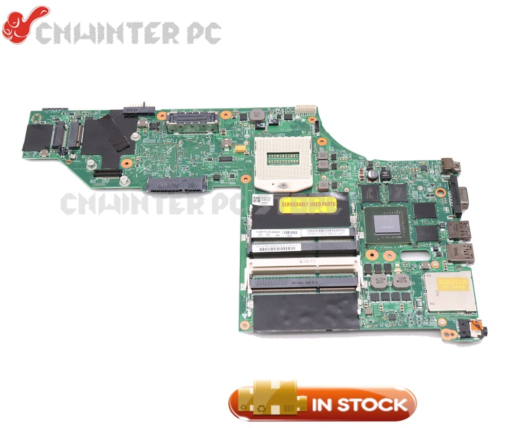 NOKOTION For Lenovo ThinkPad W540 Laptop Motherboard 15.6 InchGMA HD 4600 Quadro K2100M 04X5301 04X5293 48.4LO13.021 image