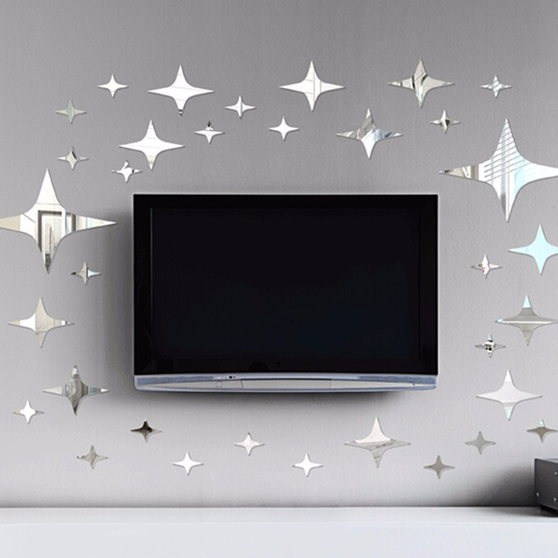 New Arrival Star Acrylic 3D Wall Mirror Stickers DIY Kids Living Room  Bedroom Ceiling Decals Decor. Popular Bedroom Ceiling Mirrors Buy Cheap Bedroom Ceiling Mirrors