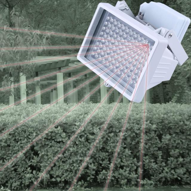 12 V 96 LED Night Vision IR Lâmpada de Luz Infravermelha para CCTV Camera Worldwide Loja