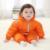 Bebé Ropa de Invierno de Algodón Acolchado de Una Pieza de Abrigo Cálido de Los Niños Guardapolvos Del Bebé Del Mono Recién Nacido Del Mameluco Del Invierno de Los Cabritos Abajo y Abrigos Esquimales