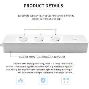 Image 3 - Smart Stecker, Power Streifen, WiFi Surge Protector Drahtlose Timer Steckdose Funktioniert mit Google Hause, Alexa