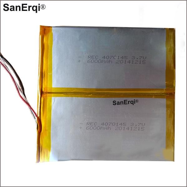 3 fils 4070145 3.7 V 12000 MAH pour Teclast A10HD batterie 4070145 batterie X900 Quadruple Core p98H Quadruple Core batterie