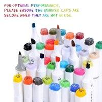 TouchFIVE 168 Цвет двойной маркеры для набросков и рисунков двойной возглавлял графический маркер Pen Set арт ручки с красками принадлежности для ри