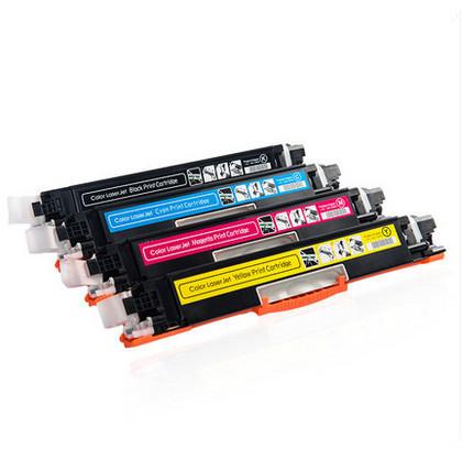 Cartucho color Toner compatível para HP CF350A CF351A CF352A CF353A 130a 350 para HP LaserJet Pro MFP m176n, M176, M177fw, M177