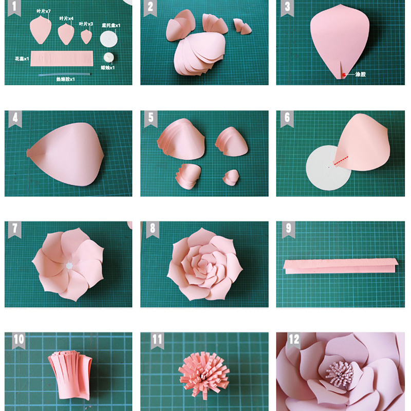 Aliexpress buy joy enlife 2pcs 20cm diy paper flowers backdrop aliexpress buy joy enlife 2pcs 20cm diy paper flowers backdrop decor hen party kids birthday party wedding party home room decor supplies from mightylinksfo