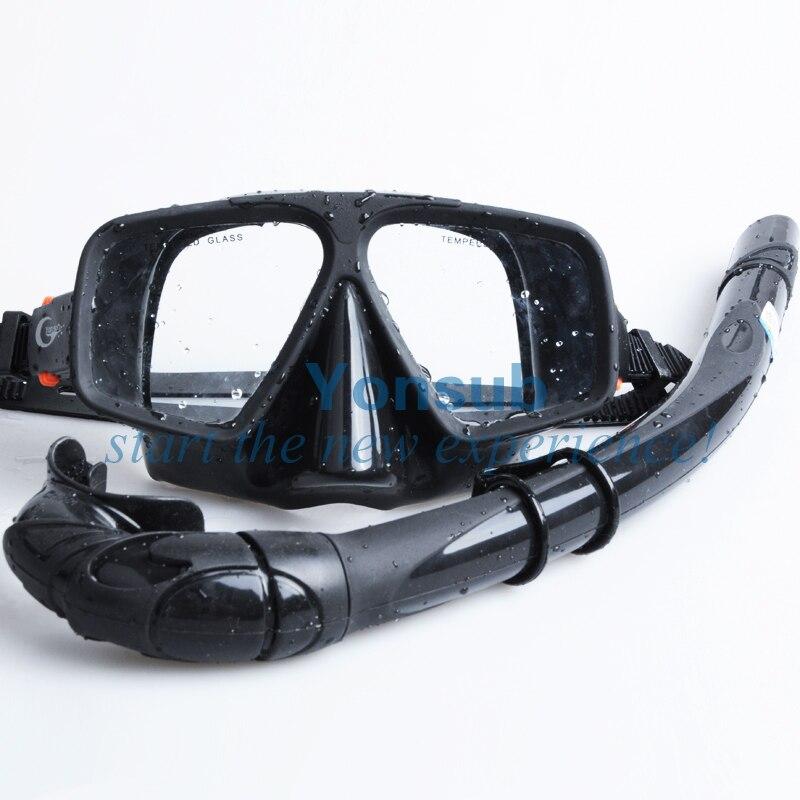 Livraison Gratuite Plongée En Apnée Chasse Sous-Marine Plongée sous-marine Pro Masque ensemble de plongée