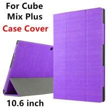 Case para cubo de mezcla más protector de la cubierta elegante de la pu cuero de la tableta PC Para Cubo de MEZCLA MÁS Protector de La Manga de 10.6 pulgadas Cubiertas de Los Casos