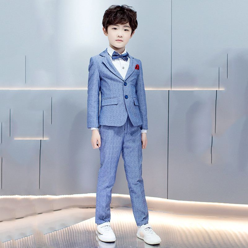 New Kids Boys Suit For Wedding Piano Party Children Boys Blazer+Pant+Shirt+Bowtie+Vest 4/5Pcs Baby Boy Suits Formal Clothes Y127New Kids Boys Suit For Wedding Piano Party Children Boys Blazer+Pant+Shirt+Bowtie+Vest 4/5Pcs Baby Boy Suits Formal Clothes Y127