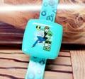 Free Shipping 10 Pcs/Lot  Cartoon Ben 10 Boys LED Digital Watches With Mirror & Calendar Children Kids Function Wristwatches New