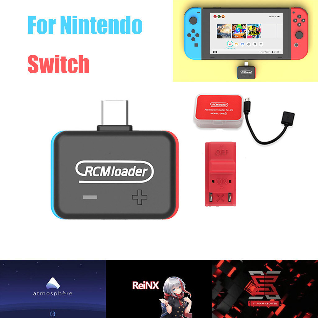 Bluetooth Wireless Payloads Injector Transmitter Support For Nintendo Switch For PC Host Use RCM Loader ONE Injector Type C