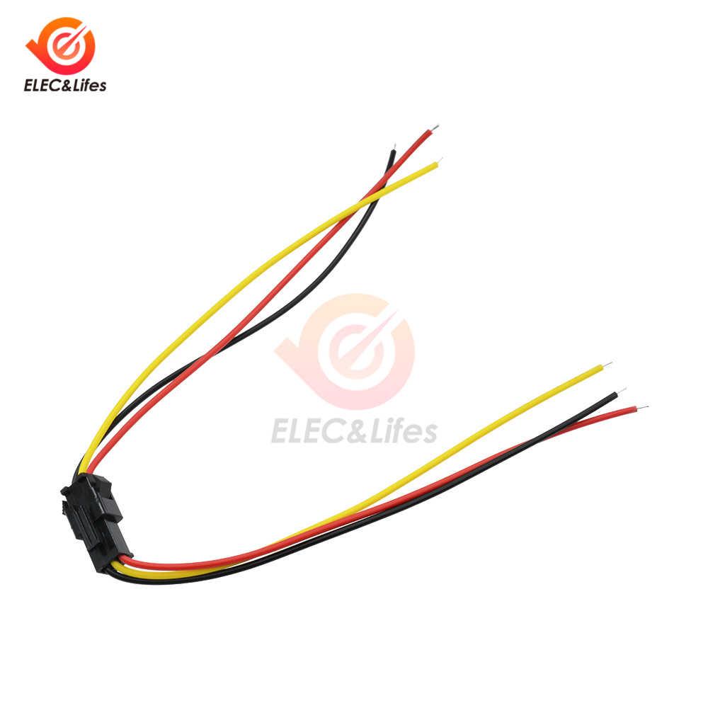 5 Pasang 3 Pin JST SM Konektor Pria dan Wanita 3PIN untuk WS2812B WS2811 WS2812 LED Strip 10 Cm 15 cm 30 Cm