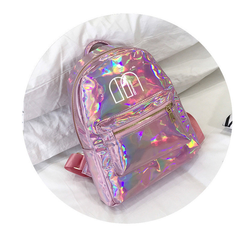 Youpop KPOP MAMAMOO Album Laser PU Bag Jewelry Admission Package New Fashion Backpack Bags SJB622 youpop kpop blackpink album laser pu bag jewelry admission package new fashion backpack bags sjb618