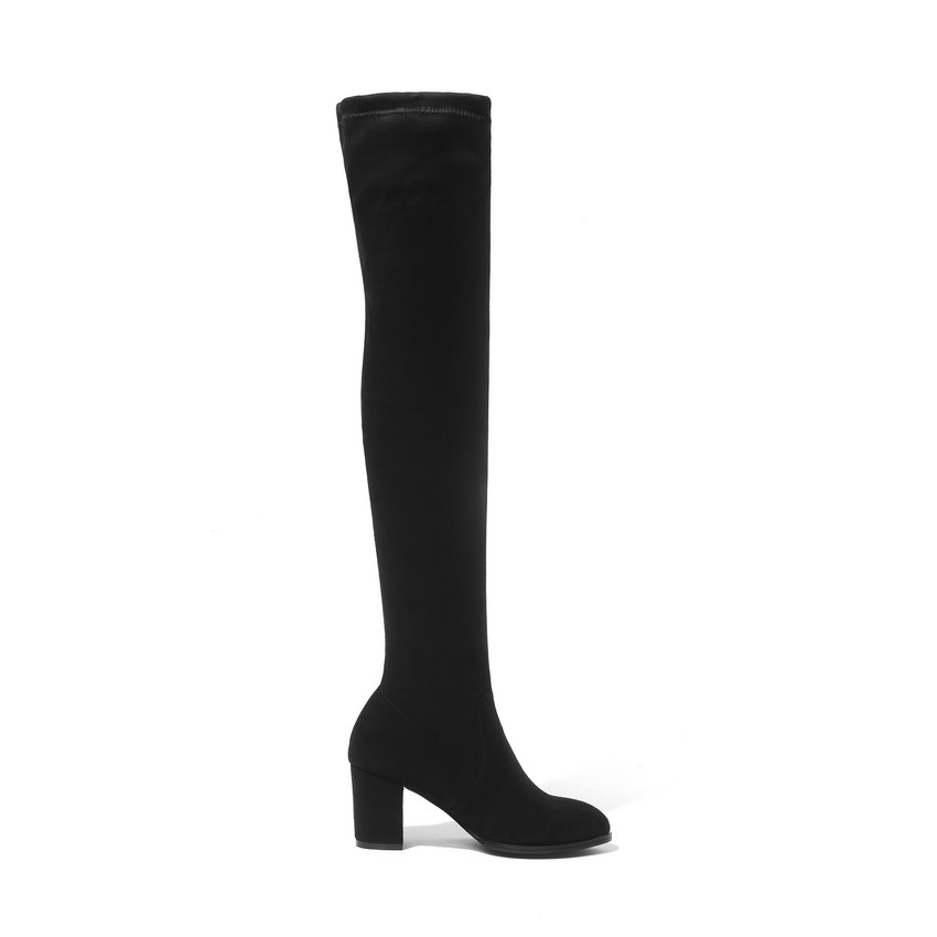 Women Over The Knee High Heel Winter Sexy Boots 8