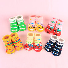 Non-slip children's socks cotton Boys and Girls Socks comfortable soft tube cotton socks 0-1 years old baby socks wholesale L807 new spring summer kids floor socks non slip leather bottom boys and girls baby toddler socks bow 0 1 3 years old girls socks
