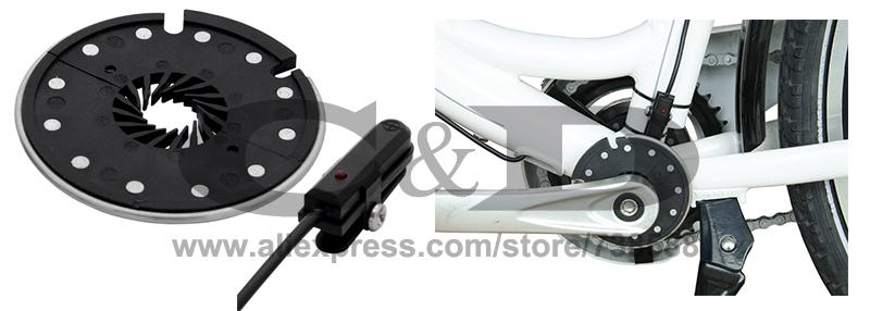Cheap Free Shipping 1500W E-bike Electric Bike Conversion kit Driect Drive Motor MXUS 48V 52V 13AH 17AH Hailong Battery LCD 28
