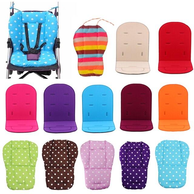 Asiento para cochecito de bebé, asiento, silla, silla alta, cochecito, coche, colchones blandos coloridos, accesorios para alfombrilla de asiento para cochecito