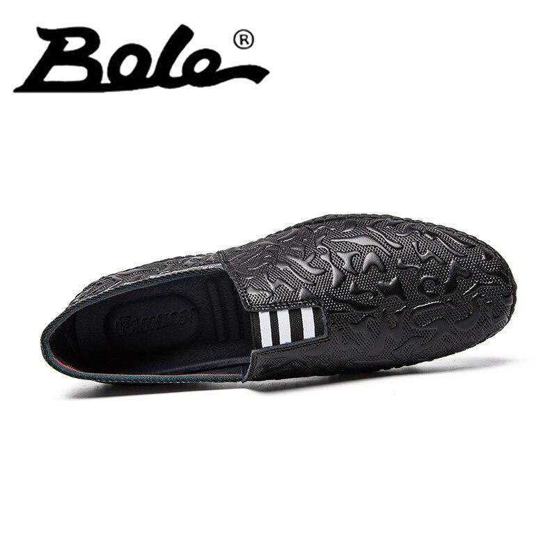Baixa Livre Duro Peso Respirável Nova Calçados Vestindo Slip De On Size44 Mocassins Preto Homens Casuais Genuíno Vaca Leve Sapatos Couro Top w4Hf4qZ