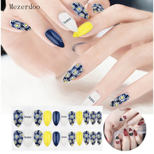 24 Pcs/Set False Nails Full Cover Artificial Fake Press On Tips Painted Design Stickers Short Art with Color Cute Red