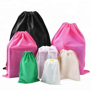 Drawstring Custom Print Packaging-Bag Shoes Shoper-Bags Logo Wholesale for Boutique 5000pcs/Lot