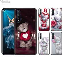 Anime Kingdom Hearts Preto Soft Case para Huawei Honor Y6 Y7 Prime Y9 2019 8X 8C 8A 7C 7A Pro 9 10 Lite Jogo Da Tampa Do Caso(China)