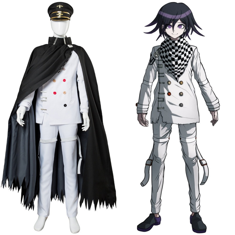 Danganronpa V3: Killing Harmony Ouma kokichi Cosplay Costume Outfit full set Men Women Custom Made for Party