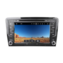 """8 """"Android 6.0 Восьмиядерный Автомобильный Мультимедийный Плеер для VW Santana 2013-GPS навигации автомобиля видео аудио стерео бесплатная карта"""