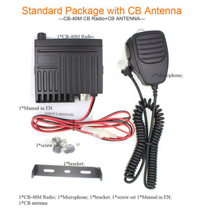 Image 5 - New ANYSECU Mini Mobie Radio CB 40M 25.615 30.105MHz 10M Amateur 8W AM/FM Citizen Band CB Radio AR 925