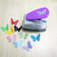 Free Shipping 4 4cm Butterfly 3D Shape Board Puncher Paper Punch For Greeting Card Handmade Scrapbook