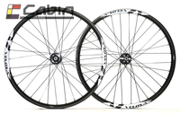 Velosa MC30 29er MTB Carbon Wheels 32H/32H 3K Clincher 25mm Deep ,29 inch XC wheelset with Novatec 791/792 hub