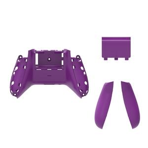Image 3 - RETROMAX pour Xbox One étui mince dos avec poignées et couvercle de batterie pour Xbox One mince contrôleur sans fil coque arrière 10 couleurs