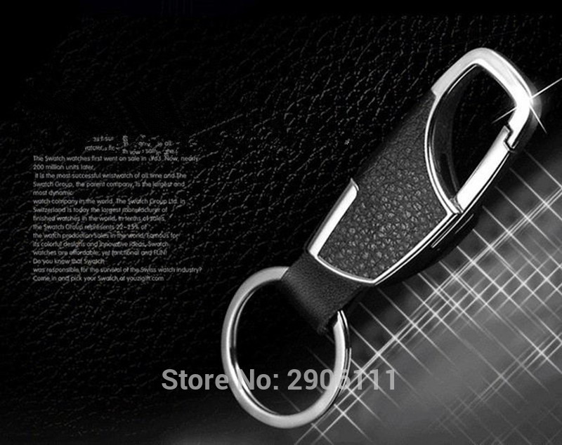 Тюнинг автомобилей кожаный брелок металлический Ключи кольцо многофункциональный инструмент Key Holder для SAAB 9-3 9-5 93 95 900 9000