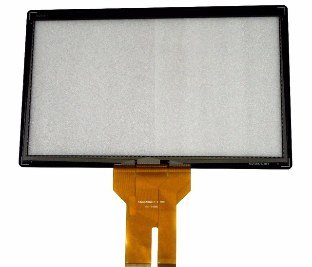 New 24'' Projected Capacitive Touch Screen Panel 10 Points+USB Controller Win 7,8 ,10 USB For LCD Monitor with fast shipping