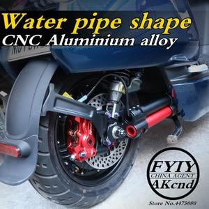 Image 2 - AKCND אופנוע אחורי השעיה אלומיניום סגסוגת קטנוע אחורי נדנדה זרוע שונה מזלג עבור niu n1/n1s חשמלי קטנוע רכב