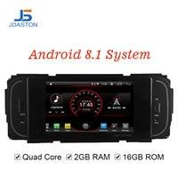 JDASTON Android 8,1 dvd плеер автомобиля для Chrysler PT Cruiser 300 м Jeep Grand Cherokee WRANGLER Liberty Dodge Dakota RAM Пикап